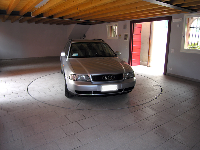 plateforme tournante pour garage priv syst mes de parc